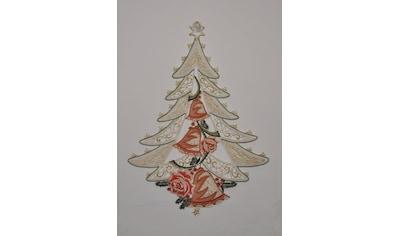 Stickereien Plauen Fensterbild, »Weihnachtsbaum«, (1 - tlg.) kaufen
