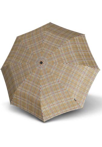 Knirps® Taschenregenschirm »T.200 Medium Duomatic, Check Beige« kaufen