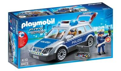 """Playmobil® Konstruktions - Spielset """"Polizei - Einsatzwagen (6873), City Action"""", Kunststoff kaufen"""