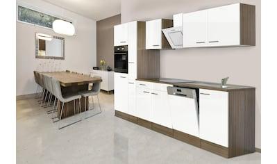 RESPEKTA Küchenzeile »York«, mit E-Geräten, Breite 310 cm kaufen