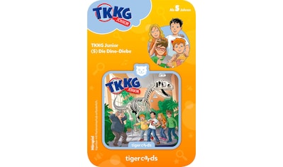 tigerbox Hörspiel, »TKKG Junior  -  Folge 5: Dino - Diebe« kaufen