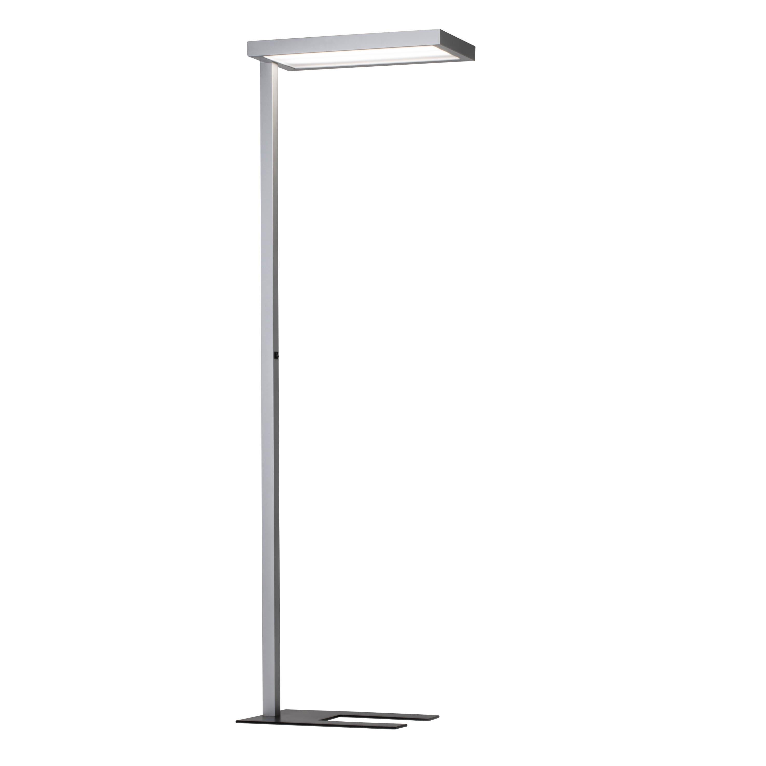 AEG Gan LED Bürofluter silber