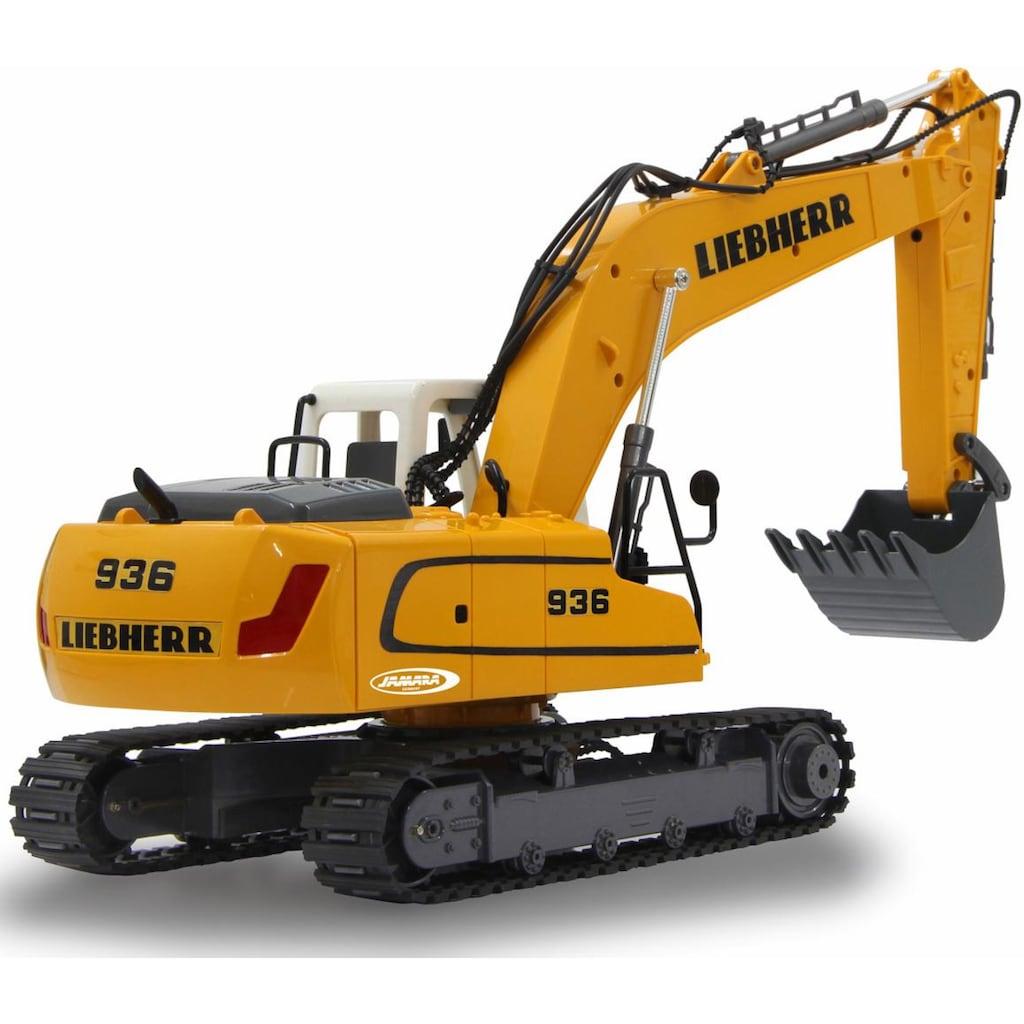 Jamara RC-Bagger »R936 Liebherr«, mit Sound und LED Beleuchtung