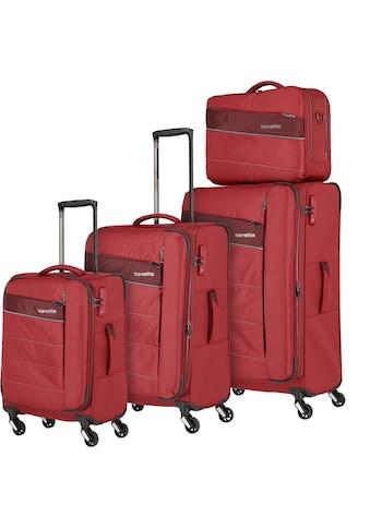 travelite Trolleyset »Kite, rot«, (4 tlg.) kaufen