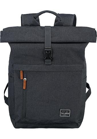 travelite Laptoprucksack »Basics Rollup, Anthrazit« kaufen