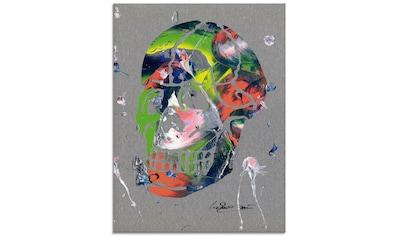 Artland Glasbild »Totenkopf«, Körper, (1 St.) kaufen