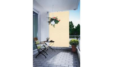 FLORACORD Seilspannsonnensegel BxH: 140x230 cm, elfenbein kaufen