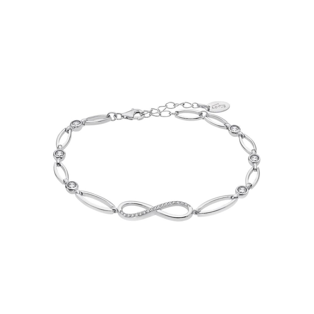LOTUS SILVER Silberarmband »Infinity/Unendlichkeitsschleife, Trendy, LP1872-2/1«