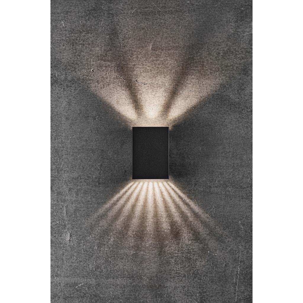 Nordlux LED Wandleuchte »FOLD«, LED-Modul, Warmweiß, Magnetische Halterung, inkl. LED Modul, inkl. 3 Lichtschablonen