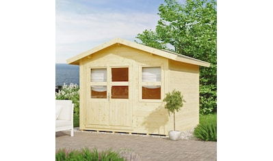 KONIFERA Gartenhaus »Blankenese 2«, BxT: 307x293 cm, inkl. Fußboden kaufen
