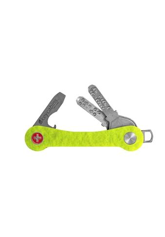 keycabins Schlüsselanhänger »Tennis S1 yello classic«, SWISS made aus upcycling Material kaufen