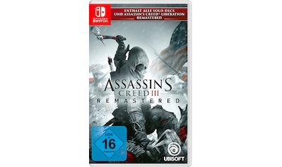 UBISOFT Spiel »Assassins Creed 3 Remastered«, Nintendo Switch kaufen