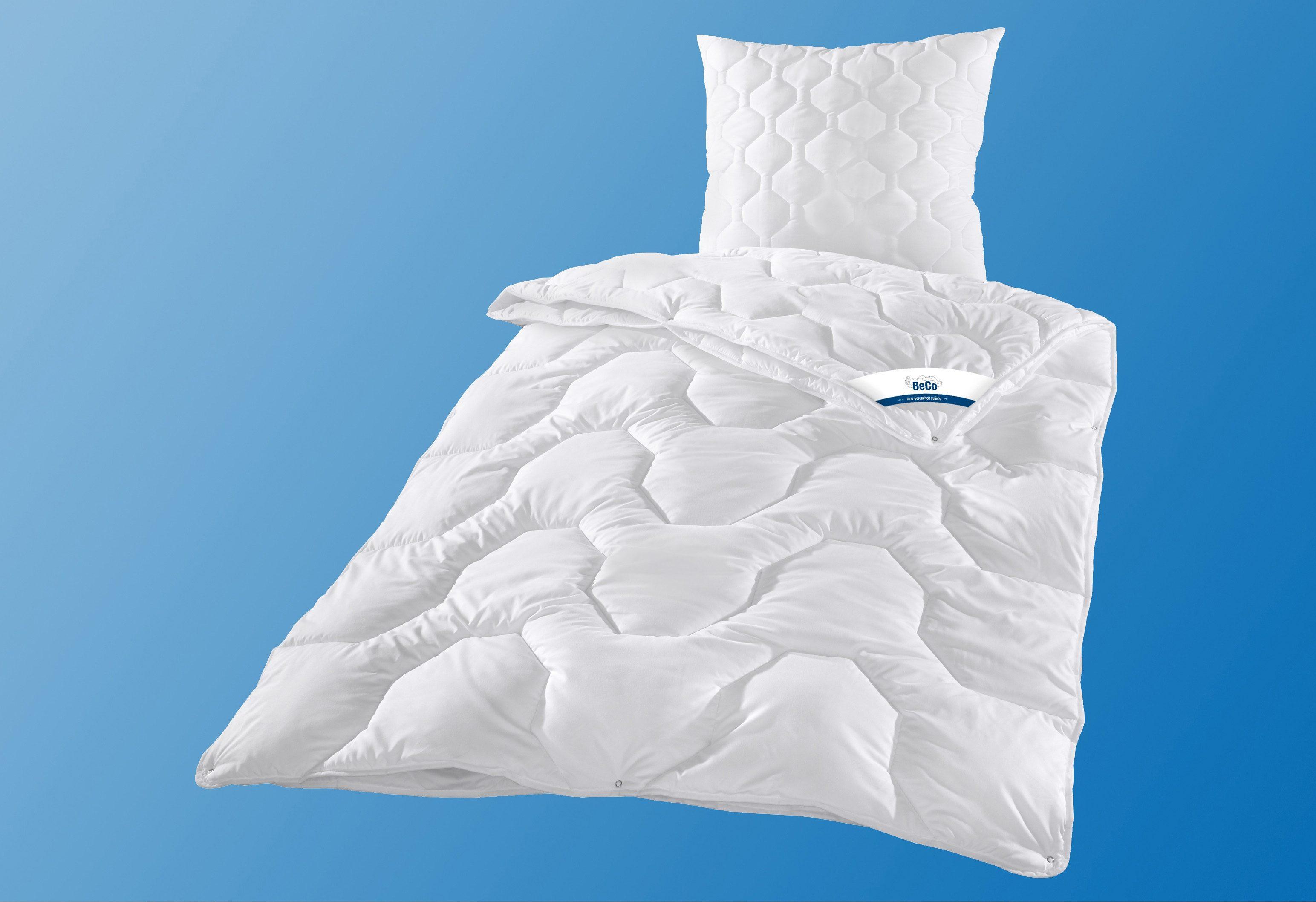 Bettdeckenset, »Cotton 95«, BeCo, 4-Jahreszeiten, Leichtdecke gratis, kochfest