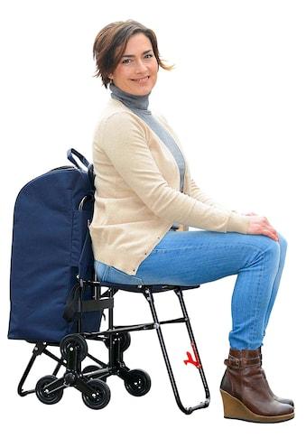 Wenko Einkaufs - Trolley mit Sitz kaufen