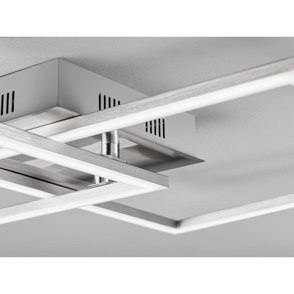 EGLO LED Deckenleuchte »Palmaves 1«, LED-Modul, 1 St., Dimmbar über Fernbedienung,  Nachtlichtfunktion 10 %, Farbtemperatur einstellbar, Timerfunktion, modernes Design, als Wand- und Deckenlampe einsetzbar