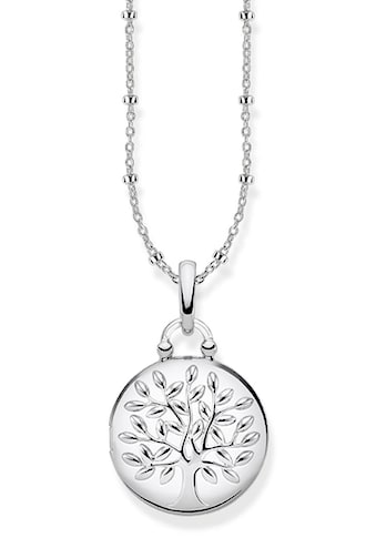THOMAS SABO Kette mit Anhänger »KE1831-001-21-L45v, Medaillon Tree of Love silber rund« kaufen