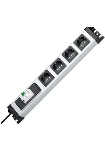 Kopp Steckdosenleiste »POWERv.4f.m.FI/LS«, 4-fach, (Ein- / Ausschalter... kaufen