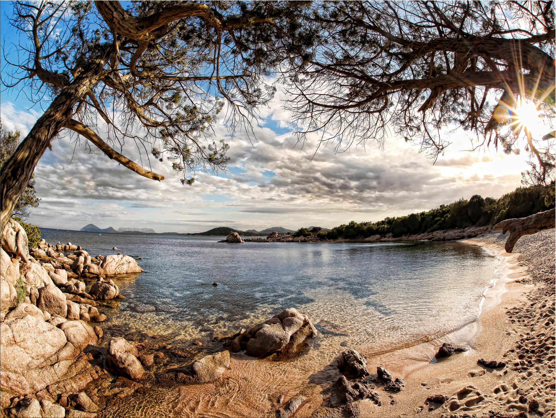 Leinwandbild »Sardinia«, Landschaft