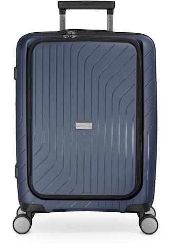 Hauptstadtkoffer Hartschalen-Trolley »TXL, dunkelblau, 55 cm«, 4 Rollen, mit... kaufen