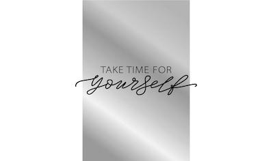 Dekospiegel »Take time« kaufen