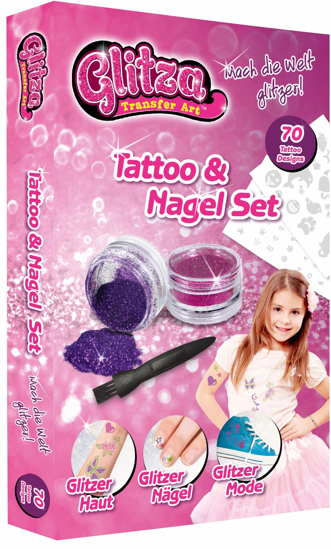 knorr toys Kreativset, »Glitza Tattoo + Nagelse...
