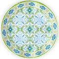 Q Squared NYC Speiseteller »Lima Collection«, (Set, 2 St.), Ø 27 cm, Melamin