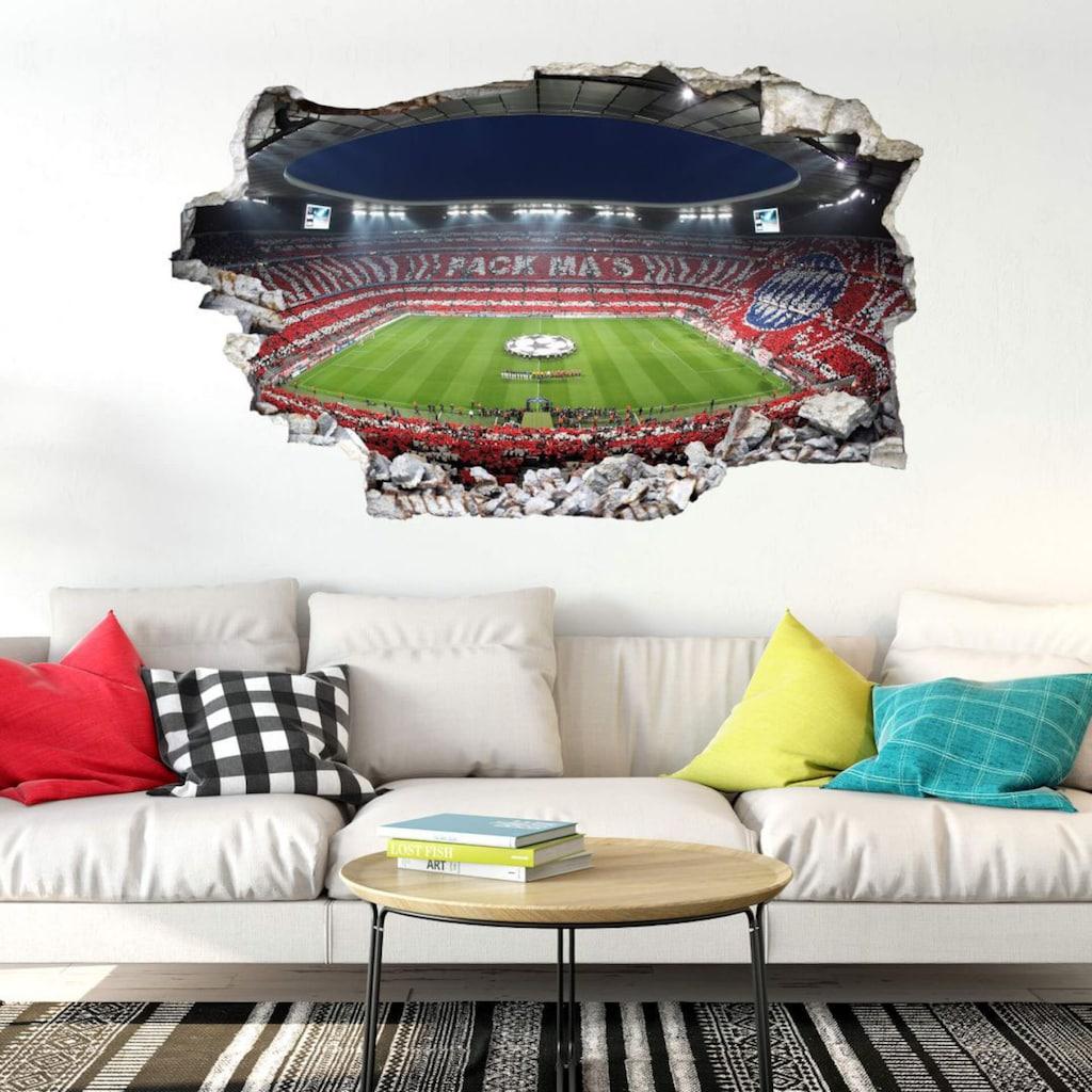 Wall-Art Wandtattoo »Aufkleber FCB Stadion Pack Ma's«