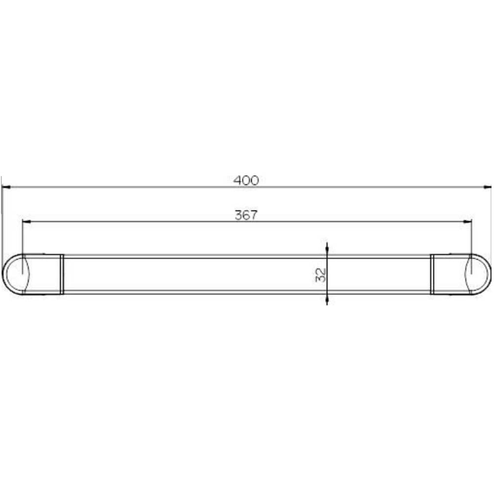 Provex Haltegriff »Serie 500«, belastbar bis 130 kg, chrom