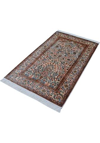Seidenteppich, »T. Of Life 63«, Kayoom, rechteckig, Höhe 10 mm, manuell geknüpft kaufen