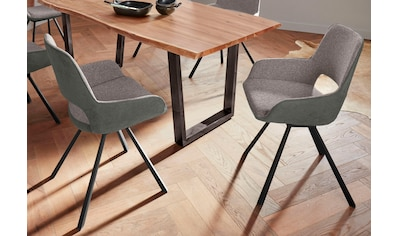 MCA furniture 4-Fußstuhl »Parana«, 2er-Set, Stuhl belastbar bis 120 Kg kaufen