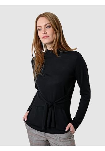 Laura Kent Rundhalspullover, mit Knotendetail kaufen