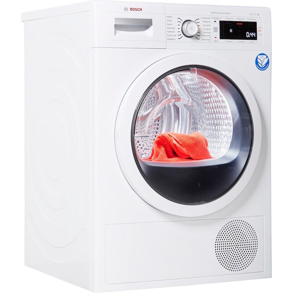 BOSCH Wärmepumpentrockner »WTW87541«