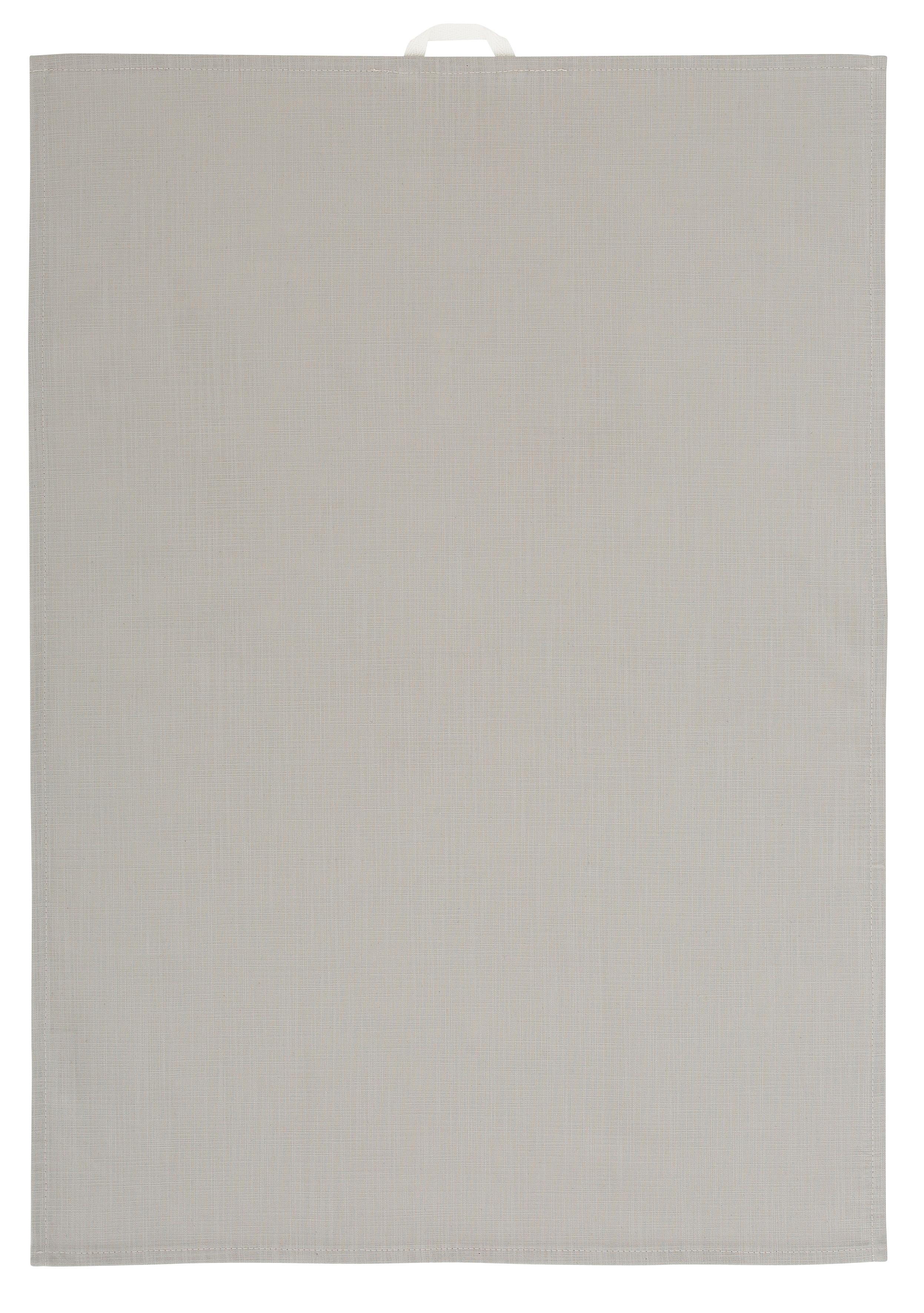 OTTO products Geschirrtuch Anjella, (Set, 4 tlg.), aus Bio-Baumwolle grau Geschirrtücher Küchenhelfer Haushaltswaren