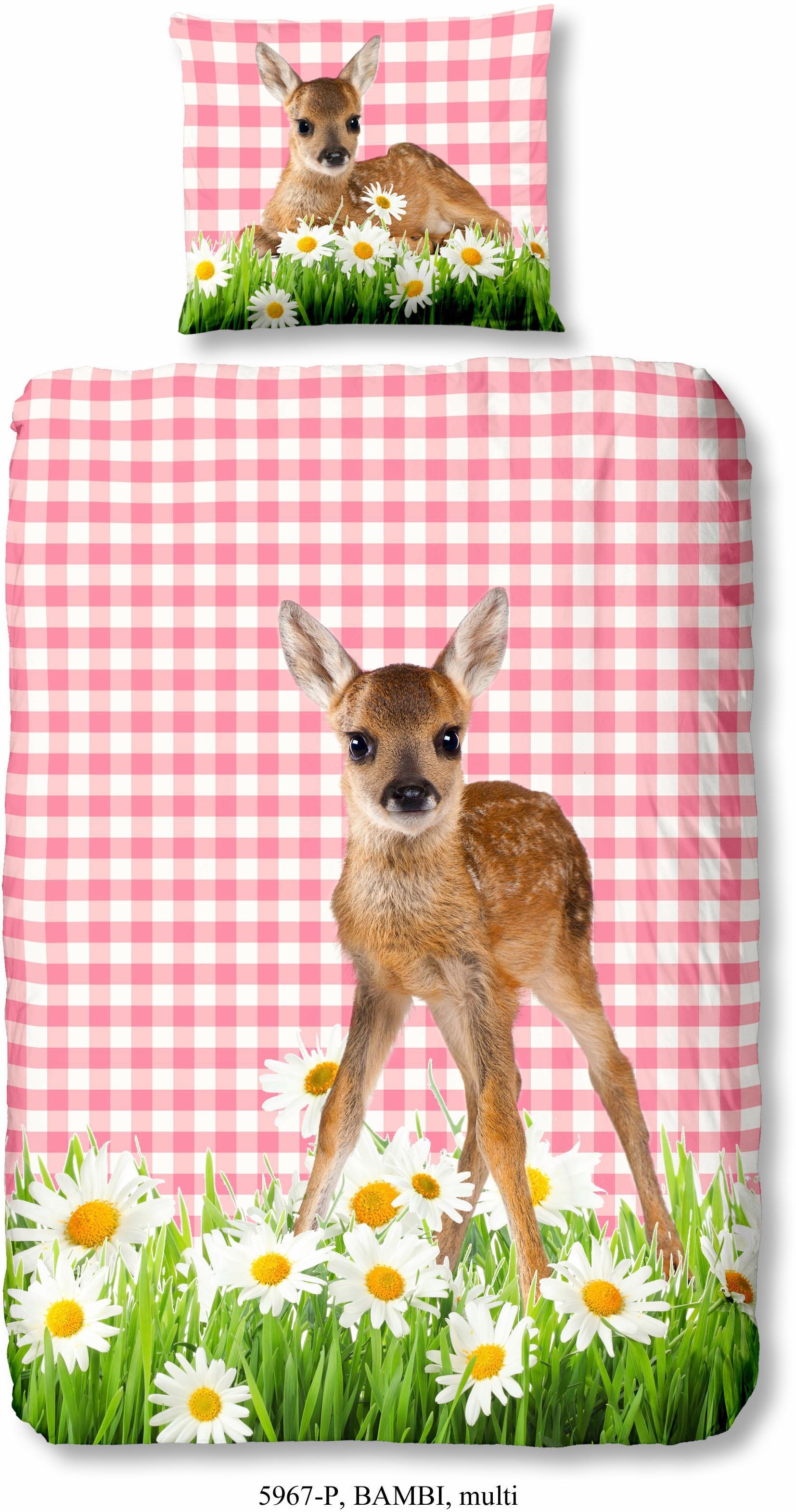 Kinderbettwasche Good Morning Bambi Mit Bambimotiv Kaufen Baur