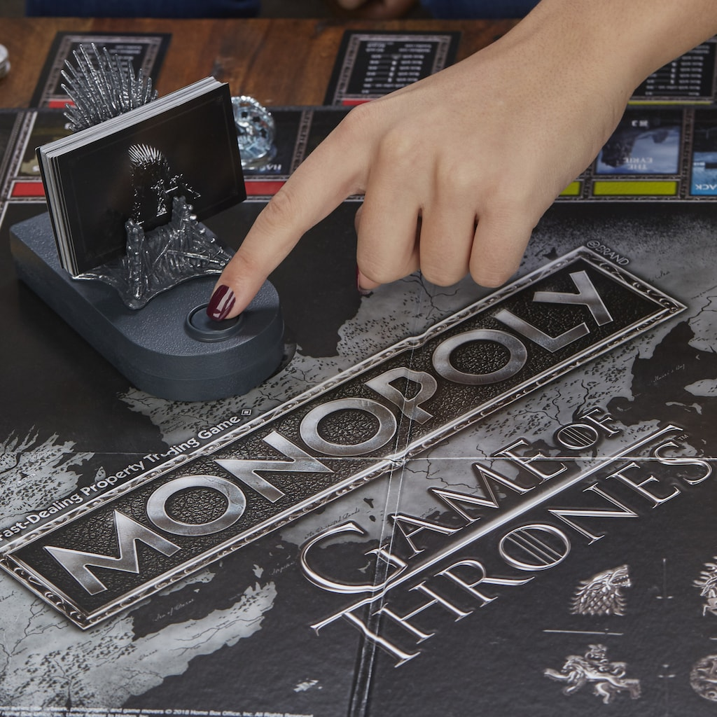 Hasbro Spiel »Monopoly Game of Thrones«, mit Game of Thrones Soundtrack