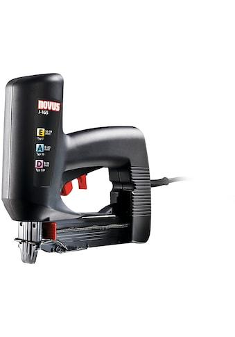 NOVUS Elektro-Tacker »J-165 Panel«, schmale Nase, elektronische Schlagkraftregulierung... kaufen