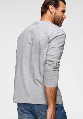 Man's World Langarmshirt »MW Langarmshirt« kaufen