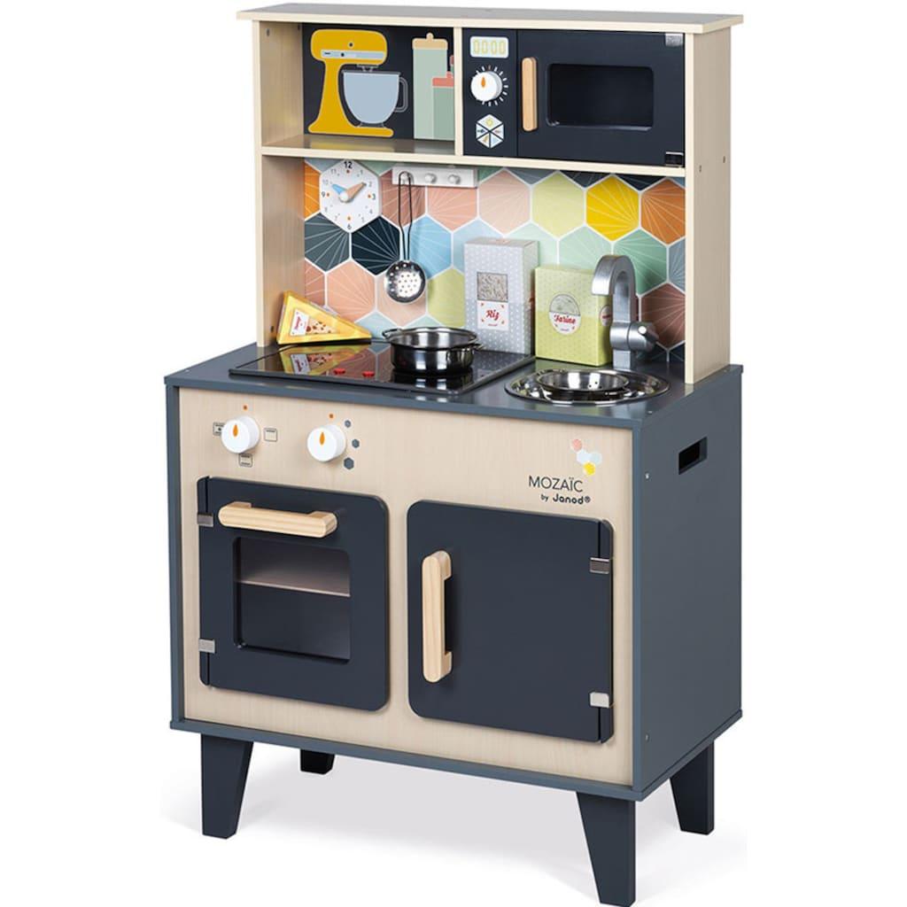 Janod Spielküche »Mozaic«, mit Sound und Beleuchtung