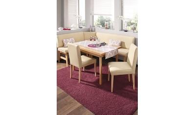 Home affaire Eckbankgruppe »Susanne«, (Set, 4 tlg.), (Eckbank, Tisch und 2 Stühle),... kaufen