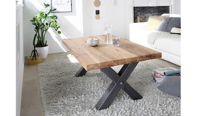 MCA furniture Couchtisch, Couchtisch Massivholz Wildeiche geölt kaufen