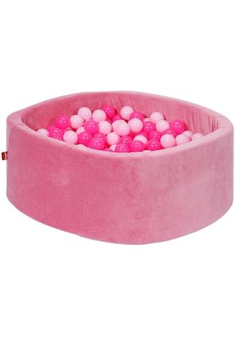 "Knorrtoys® Bällebad ""Soft, pink"" kaufen"