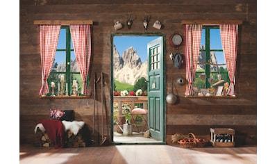 KOMAR Set: Fototapete »Dolomiti«, Ausgezeichnet lichtbeständig kaufen