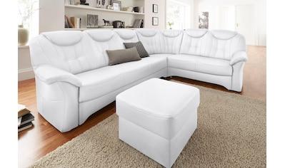 exxpo - sofa fashion Ecksofa, mit Federkern, wahlweise mit Bettfunktion und Bettkasten kaufen