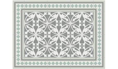 Contento Platzset »Matteo, Fliesen, grün«, für innen und außen geeignet, wasserabweisend kaufen
