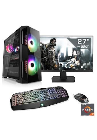 CSL »HydroX T8682 Wasserkühlung« PC - Komplettsystem (AMD, Ryzen 7, RTX 20) kaufen