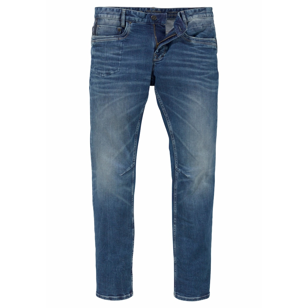 PME LEGEND Tapered-fit-Jeans »SKYMASTER«, im Used Look