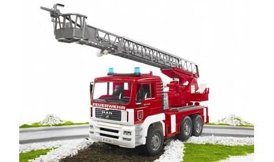 """Bruder® Spielzeug - Feuerwehr """"MAN Feuerwehrauto mit Drehleiter, Wasserpumpe und Light and Sound Module (trucks)"""" kaufen"""