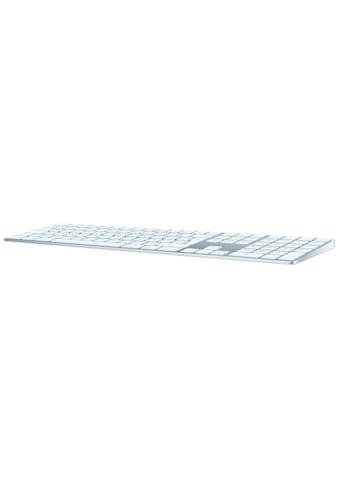 Apple Tastatur »Deutsch, Silber«, Magic Keyboard mit Ziffernblock kaufen