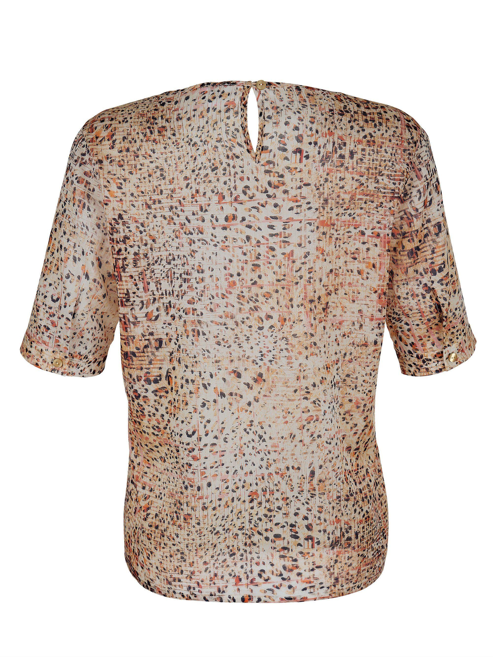 Alba Moda Druckbluse aus Baumwoll-Voile