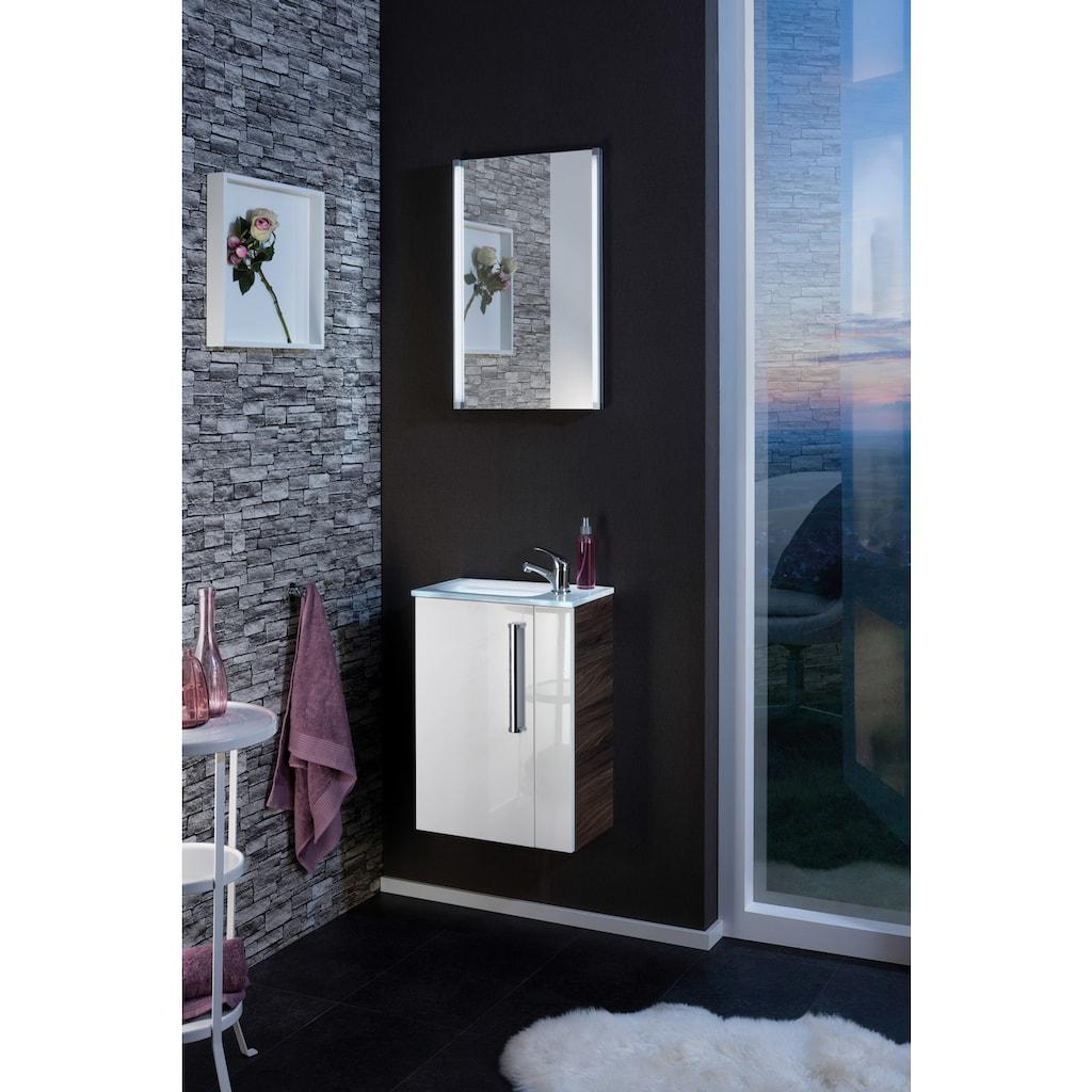 FACKELMANN Einbauwaschbecken »Gäste-WC«, Glas, Breite 45 cm, für Gäste-WC